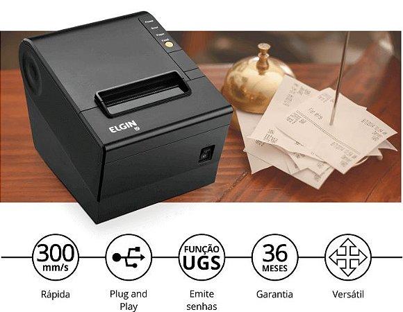 Impressora Térmica Não Fiscal Usb Elgin I9 - C/Guilhotina