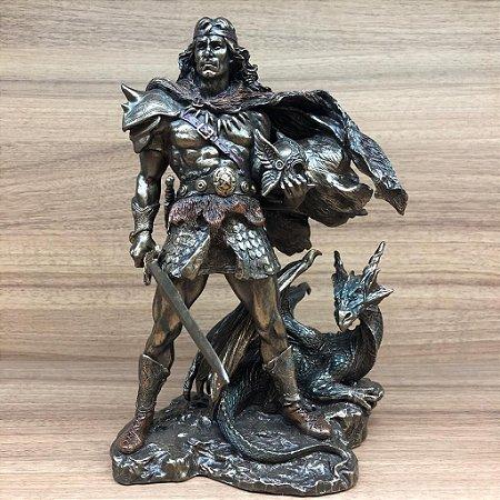 Viking Com Dragão 000537