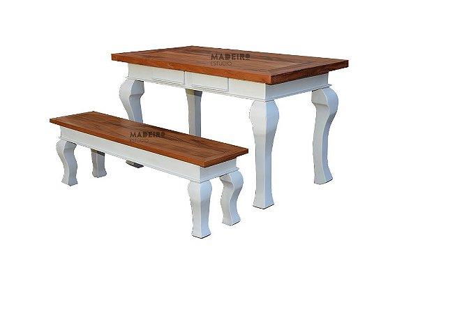 Jogo mesa com banco