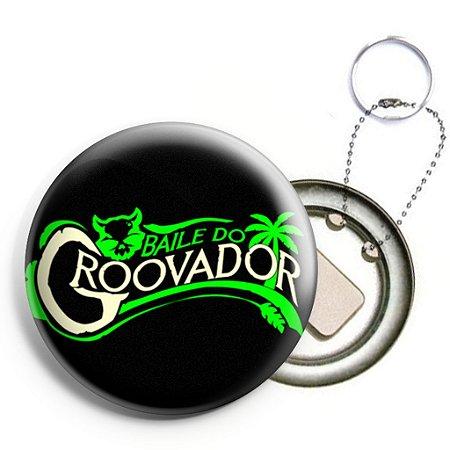Baile do Groovador - Chaveiro/Abridor de Garrafas