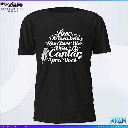 Camiseta Maskavo - Vou Cantar pra Você