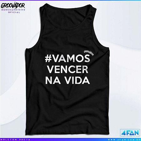 Camiseta Regata - Junior Groovador - #Vamos Vencer na Vida