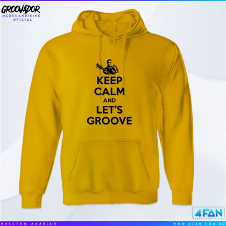 Moletom Junior Groovador - Keep Calm and Let's Groove