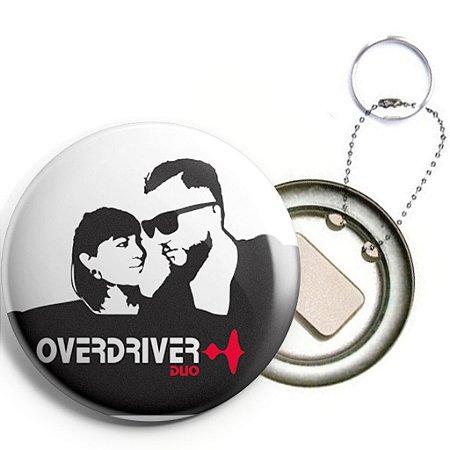 Overdriver Duo - Chaveiro/Abridor de Garrafas (Modelo 1)