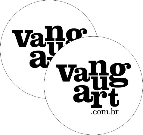Vanguart - Adesivo - Logo - (2 Unidades)