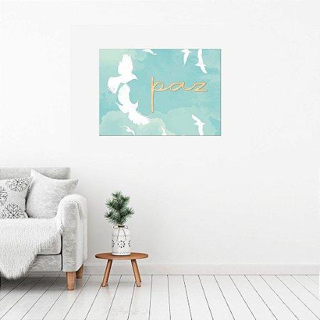 Quadro Canvas Decorativo com relevo