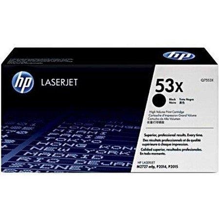 TONER HP Q7553X 53X Q7553X | M2727NF P2014 P2014N P2015 P2015D P2015DN |ORIGINAL 7K