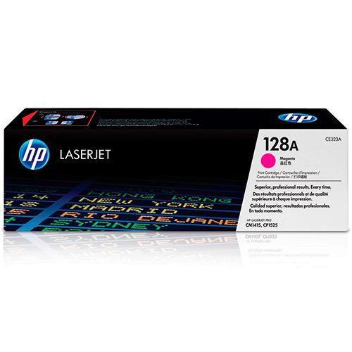 TONER HP CE323A CE323AB 128A MAGENTA | CM1415FN CM1415FNW CP1525NW | ORIGINAL 1.3K