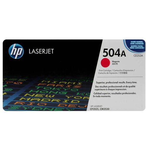 TONER  HP CE253A 504A MAGENTA | CP3525 CM3530 CP3525DN CP3525N CP3525X CM3530FS |ORIGINAL 7k