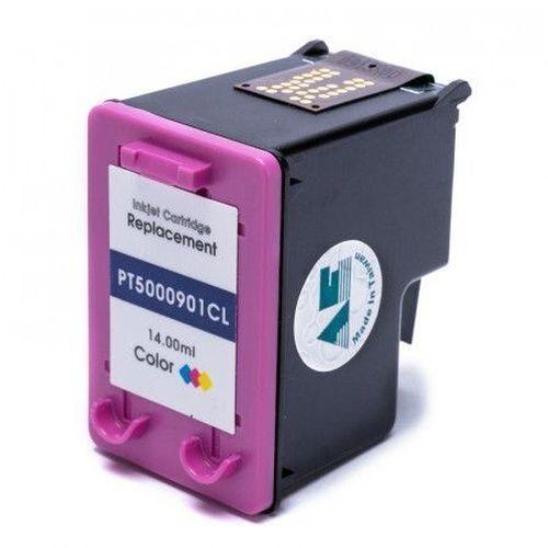 CARTUCHO DE TINTA COMPATÍVEL COM HP 901XL 901 CC656AB COLORIDO/COLOR | J4580 J4680 J4660 J4500 J4550 14ML