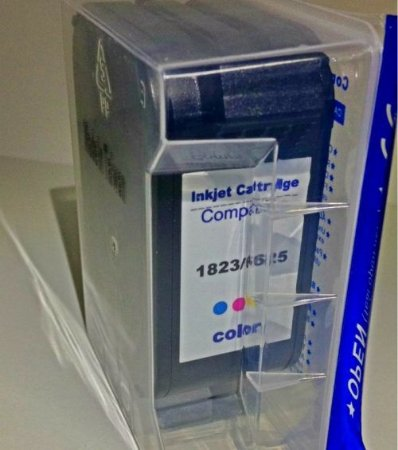 CARTUCHO DE TINTA COMPATÍVEL COM HP 23 C1823D COLORIDO | DESKJET 840 DESKJET 710C | 27ML