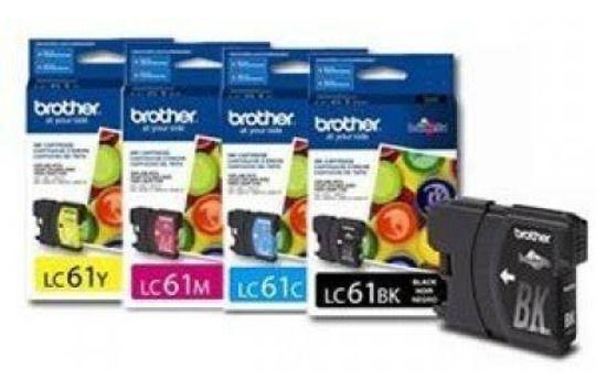 Cartucho Brother LC61/65 Todas as cores Compatível e Original