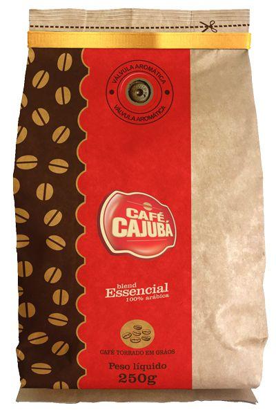 Café Cajubá Essencial Grãos 250g