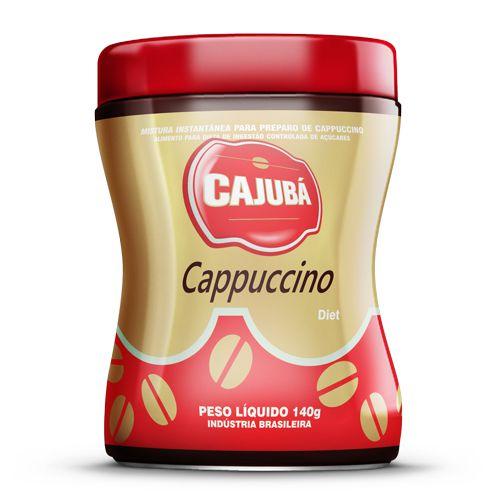 Cappuccino Cajubá Diet 140g