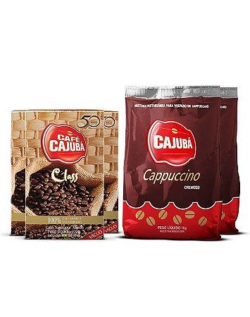Combo Cajubá Class + Cappuccino Cremoso