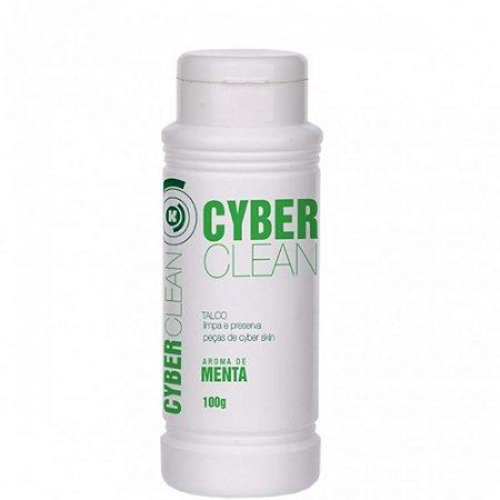 Talco Cyber Clean Limpa e Preserva Peças de Cyber Skin Aroma de Menta