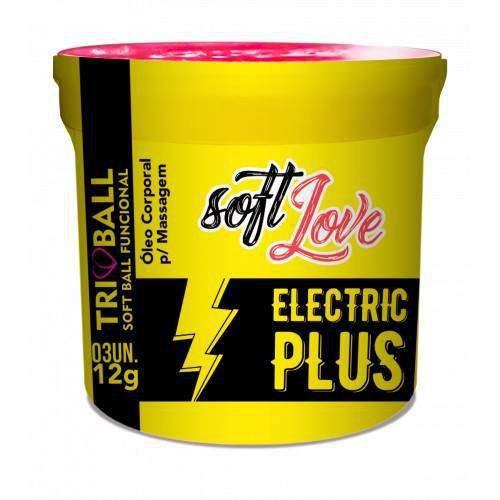 Eletric Plus Soft Ball - Vibra, Pulsa e Lubrifica