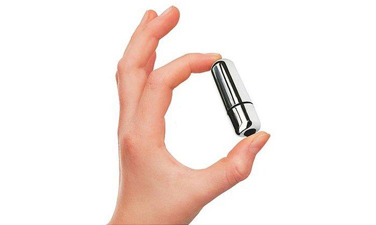 Mini Vibrador Bullet para Estimular o Clitóris  - 5 cm