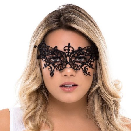 Máscara Yandra - Preta