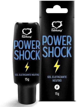 Power Shock Excitante Eletrizante Beijável - Neutro