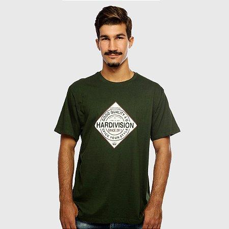 Camiseta Masculina Verde Manga Curta Spice Hardivision