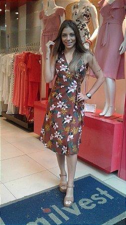Vestido Santana Marrom