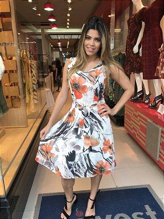 Vestido Serenela Orange