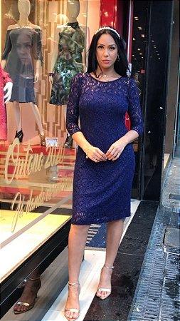 Vestido Sibila Azul