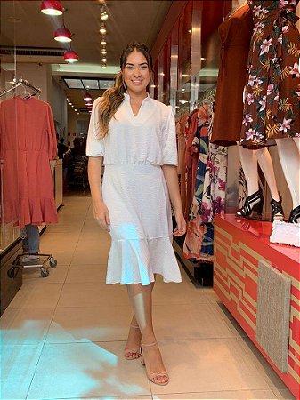 Vestido Silveria Branco