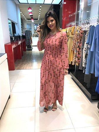 Vestido Taciana Rose