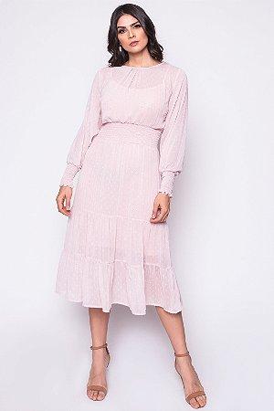 Vestido Talita Rosa