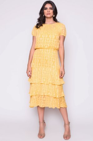 Vestido Tania Amarelo