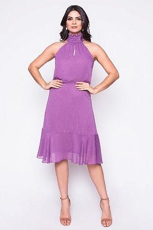 Vestido Tamar Roxo