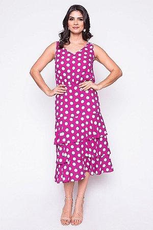 Vestido Siria Rosa