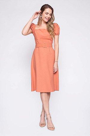 Vestido Soledade Coral