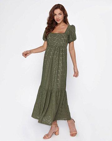Vestido Valiana Verde