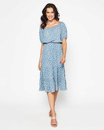 Vestido Zeferina Azul