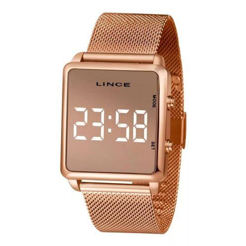 Relógio Lince Rosé Digital