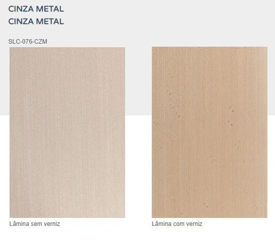 Lamina Pré Composta 076 Cinza Metal