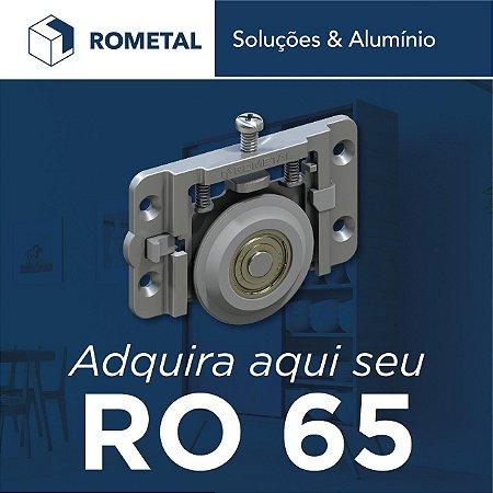 Sistema Deslizante RO 65 4013 (60 Kg) para 01 Porta - Rometal