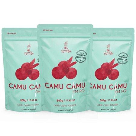 Camu Camu em Pó 500g - LEVE 3 E PAGUE 2!!
