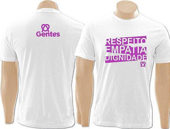 "Camiseta  ""Respeito Empatia Dignidade"""