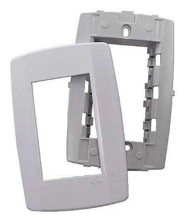 Tampa 4x2 para modulos c/ suporte slim - ilumi