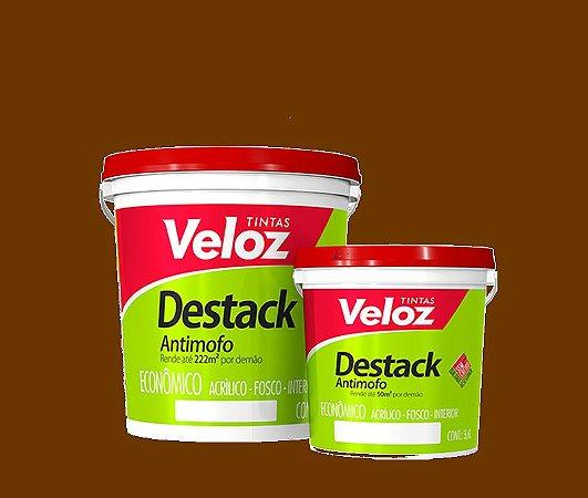 Tinta acrílico Porcelana Destack Galão com 3,6 litros - Veloz