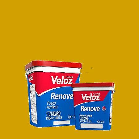 Tinta Acrílica Ocre Fosco Renove Galão com 3,6 Litros Int/Ext - Veloz