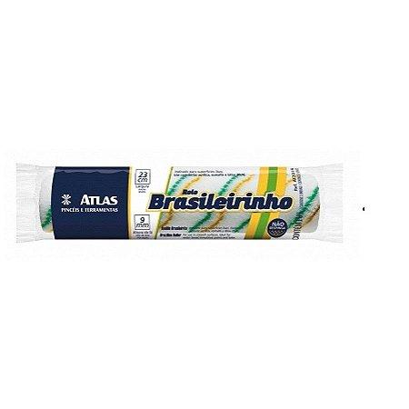 Rolo de lã brasileirinho + cabo 23cm - atlas
