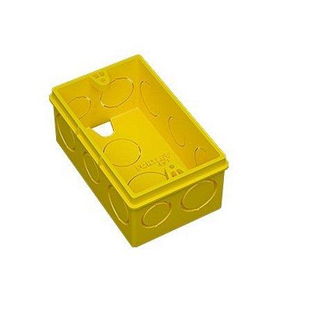 Caixa 4 x 2 amarela - fortlev