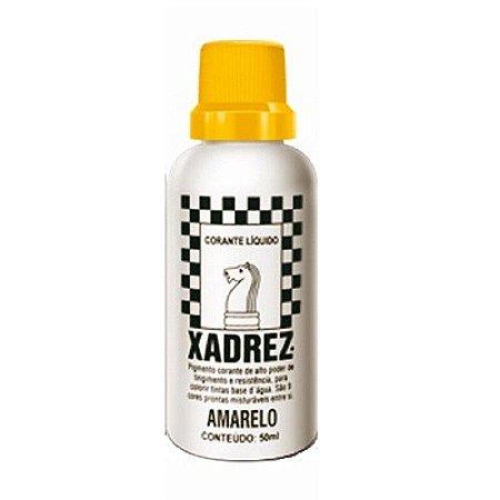 Bisnaga amarelo - xadrez