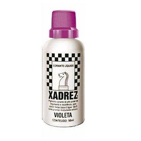Bisnaga violeta - xadrez