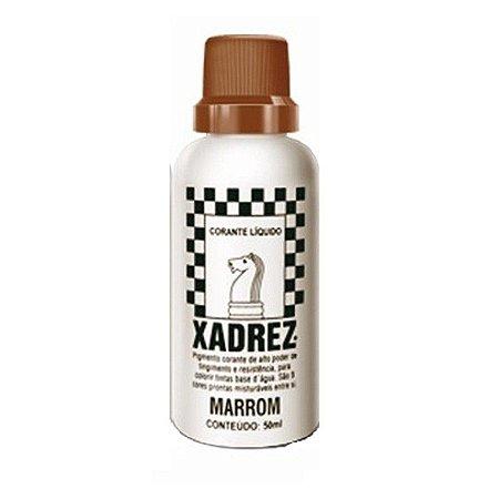 Bisnaga marrom - xadrez